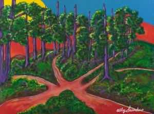 many paths, nanaimo artist, ally art, ally, artist, nanaimo artist, satir